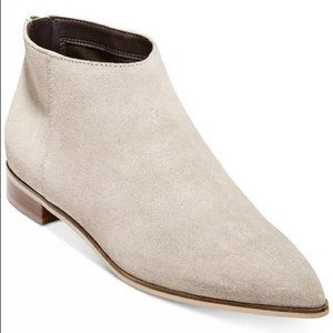 Cole Hann beige  Grand OS booties NEW